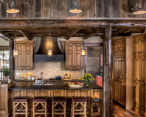 rustic oak kitchen cabinets rustic oak cabinets design ideas amp remodel pictures houzz 5015