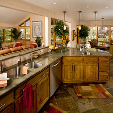 Traditional Kitchen by HighCraft Builders