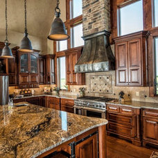 Rustic Kitchen by Cabinet Concepts by Design