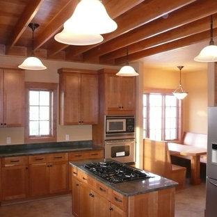 Colorado Modern Arts & Crafts Kitchen
