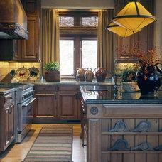 Traditional Kitchen by David Michael Miller Associates