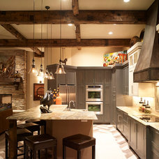 Mediterranean Kitchen by CP Designs Colorado
