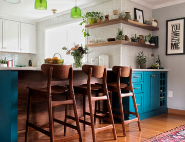 Colorful & Eclectic Kitchen by Solana James CKD