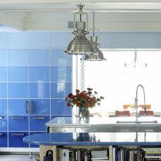 Transitional Kitchen by Anthony Baratta LLC
