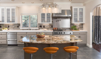 Colorful Bar Stools in Modern Kitchen Update