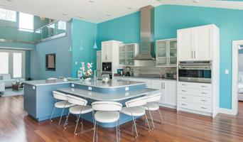 Colorful Contemporary Beach Home