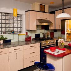 Contemporary Kitchen by Steven Paul Whitsitt Photography