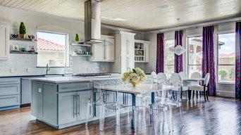 Colorful Contemporary: Kitchen