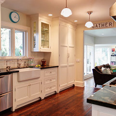 eclectic kitchen by Stephanie Wiley Photography