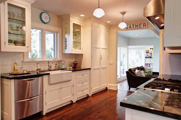 Transitional Kitchen by Stephanie Wiley Photography