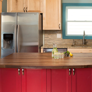 Colorful Eclectic Kitchen