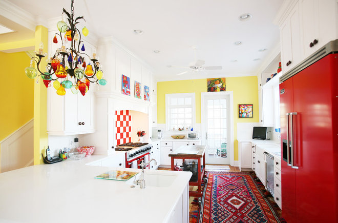 Eclectic Kitchen by Echelon Custom Homes