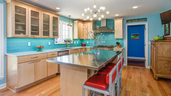 Colorful Kitchen in Afton
