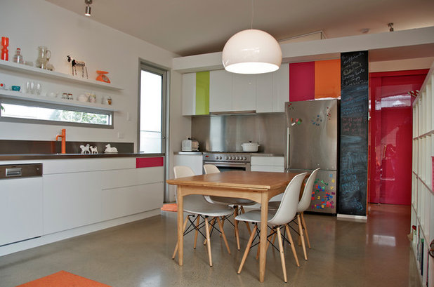 Eclectic Kitchen by Jeni Lee