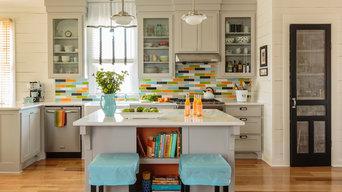 Colorful Kitchen Splash