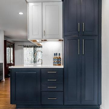 Colorful Kitchen Transformation