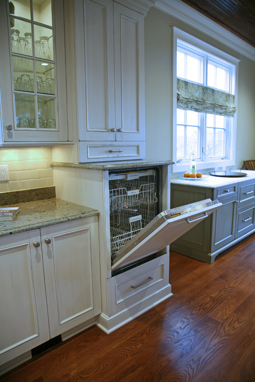 Ordinaire Need Advise On Fitting A Raised Dishwasher In An In Frame Kitchen.