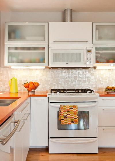 Midcentury Kitchen by Kropat Interior Design