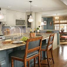 Traditional Kitchen by Kingsley Belcher Knauss, ASID