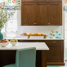 eclectic kitchen by Hudson Interior Design