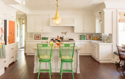 Kitchen of the Week: Splashes of Color and Country Charm