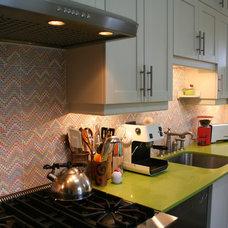 Eclectic Kitchen by Studio NOO Design