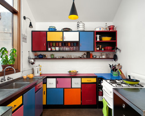 Painting Your Kitchen Cabinets Is No Small Undertaking: Paint Colors For Small Kitchens