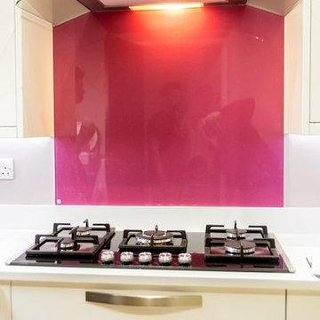 """COLOURED GLASS COLLECTION""  glass kitchen splashbacks by CreoGlass"