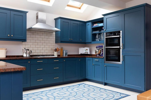 Eclectic Kitchen by Kate Lovejoy Interiors