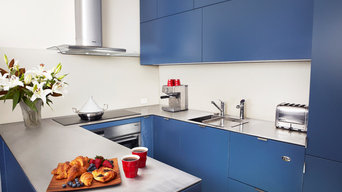 Colourful Kitchen Classic Blue recently announced as Pantone's Colour of the Yea