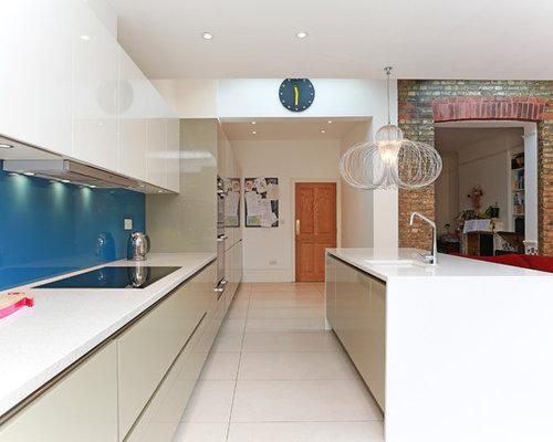 Compac Quartz - Absolute Blanc Home Design Ideas, Pictures, Remodel and Decor