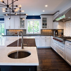 Transitional Kitchen by CWP Cabinet Concepts