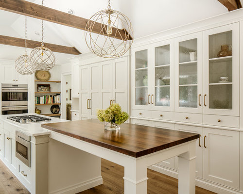 houzz farmhouse kitchen design ideas remodel pictures