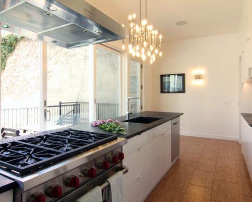 Ideas para cocinas dise os de cocinas con suelo de for Suelo waterfront