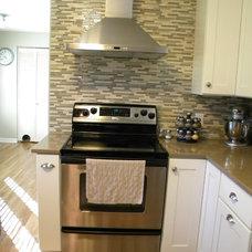 Transitional Kitchen by Kitchen Kraft