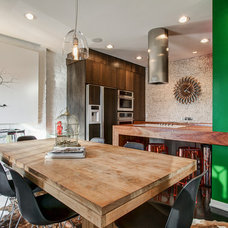 Contemporary Kitchen by Arc Photography
