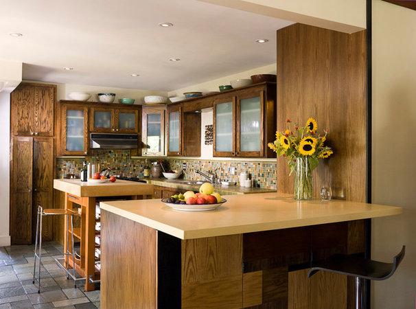 Eclectic Kitchen by Angela Dechard Design