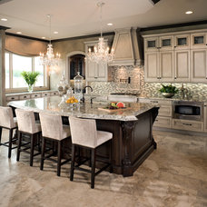 Traditional Kitchen by kevin akey -azd architects - florida