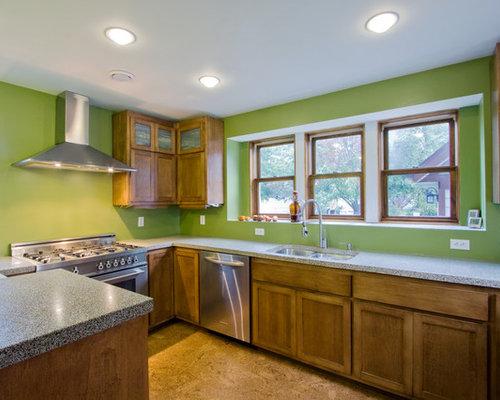 Ideas para cocinas | Fotos de cocinas con encimera de terrazo y ...
