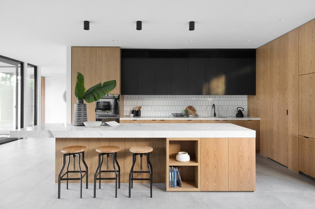 Contemporary Kitchen by Aspect 11