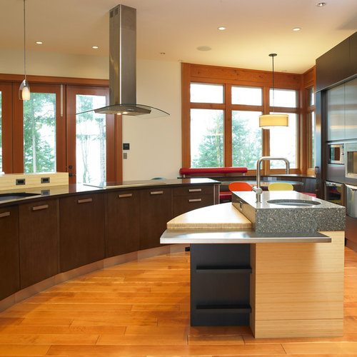 Multi Level Kitchen Island Design Home Design Ideas