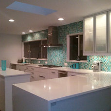 Midcentury Kitchen by Stone Select Granite and Marble
