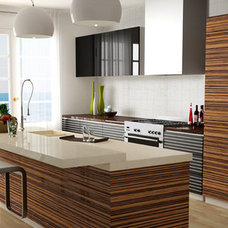 Contemporary Kitchen by Stone Center