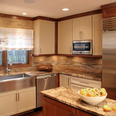 Transitional Kitchen by House of L Interior Design