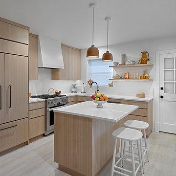 Compact Modern Kitchen Design-Chicago