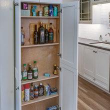 kitchen cabinets overflow