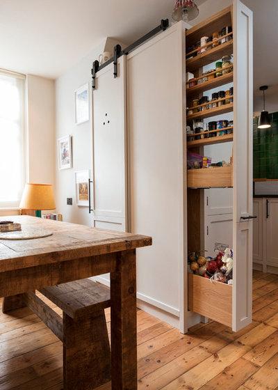 Современный Кухня by Murray & Ball Furniture Ltd