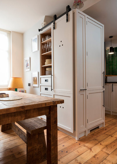 Transitional Kitchen by Murray & Ball Furniture Ltd
