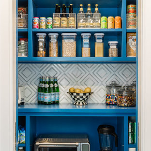 Compact Walk-In Pantry