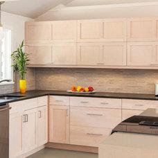 Contemporary Kitchen by 'g' Green Design Center